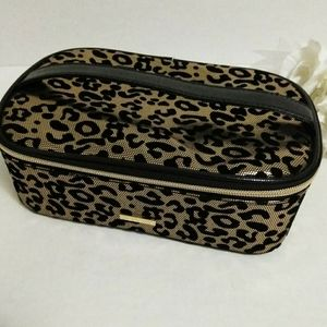 Juicy Couture Leopard Jewelry Storage/Travel Case